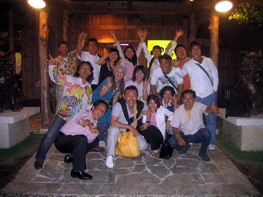 フレンチシェフの大塚健司エメラルドが沖縄に来てナベデモをしてくれた。