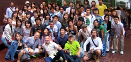 リーダーシップセミナーで恒例の波田、シンペイグループのお食事会