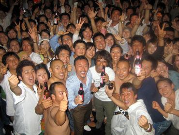 《シンクビック・ラリーのアフターパーティーのサプライズ》