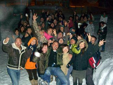 《今年もPVーBVスノーボードツアーが開催! ハンパなしな盛り上がり!》