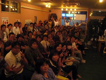 《山形県酒田市でのミーティング》