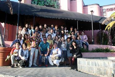 《サンディエゴの波田グループ恒例中華パーティー》