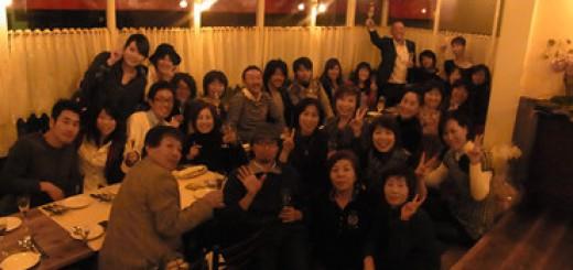 《姫路でサプライズ!!》 姫路ではミーティングの最後でヨシアキ氏のサプライズバースデー!! ばっちりダマされてくれて皆も大喜び! その後のイタリアレストランでの食事会も楽しかった!