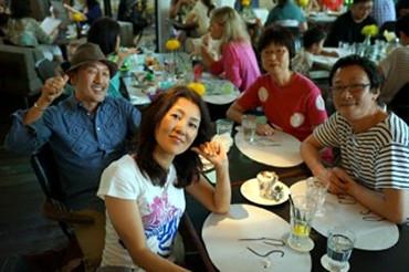 《PSカフェにて!@シンガポール》