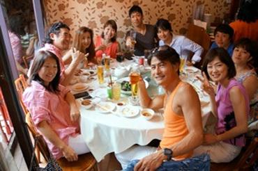 《リーダーシップセミナー2013 恒例のケージロー&シンペイお食事会 》