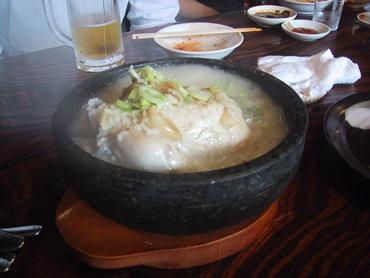 何がどうしてこうなった!!??。 韓国料理が伊豆の山の中。