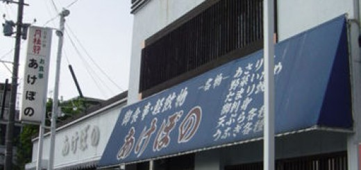 """""""あけぼの食堂""""で本日は晴天なり。 トラックの台数が物語る・・・日本定食界の未来。"""