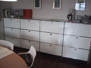 ハラーシステムのユニット家具