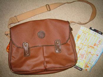 1980年代初頭のハンティングワールドのバッグ