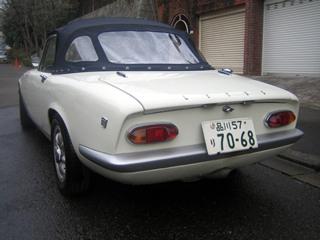 ロータスエランS―3(1968年製)