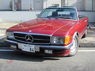 メルセデスベンツ380SL 1986年製