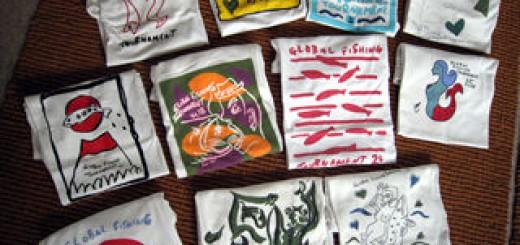 伊藤伸平画伯のTシャツ for Global Fishing Tournament