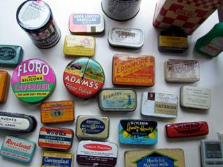 缶のコレクション(ティンカンコレクション
