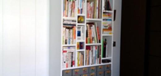 パクっちゃいました!オフィスの本棚!