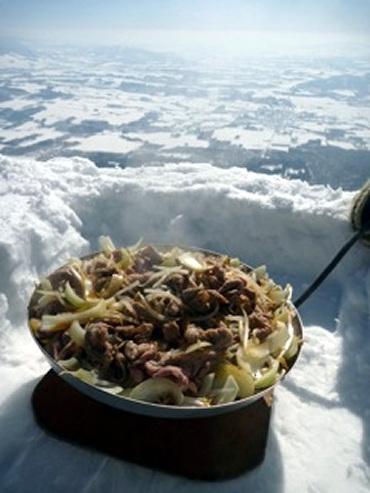 世界一の味と標高のジンギスカン!