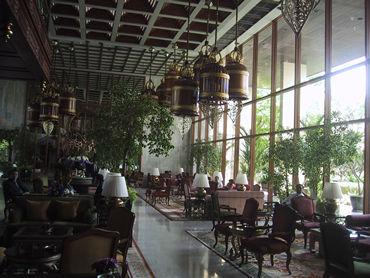 世界のビジネスマン大満足の 最高なホテルの最高な朝食。 バンコック・オリエンタルホテル。