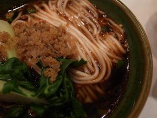 """愛の先の""""担々麺""""そして""""蟹味噌麺""""二軒ハシゴの巻。"""