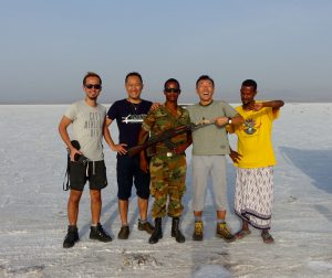 4-3ダナキル砂漠のダロール火山
