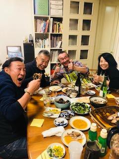ジジ宅ディナーをありがとう!