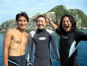 《久しぶりの慶良間諸島ダイビング》