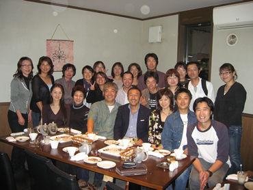 《長野県松本市のミーティング》