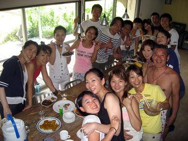 人生の定番的日記です。下田《オキラクハウス》の夏。