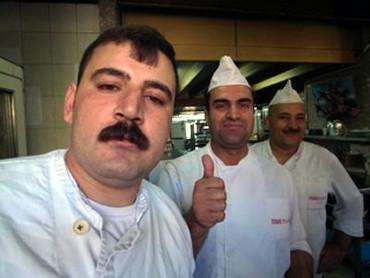 あっ濱田!!レバノン料理だぜっ!!