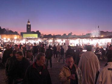 14番です! 世界最古のモロッコの屋台