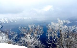 見ました、流氷!そして釧路湿原