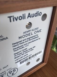 TIVOLI  AUDIO なるラジオ!