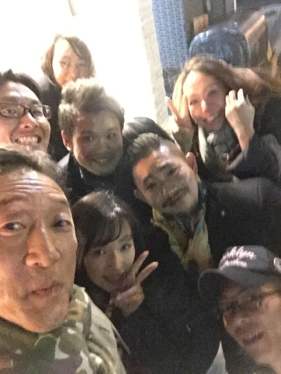 大阪の夜!アツシ!