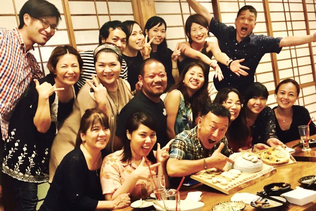 沖縄でお祝いしてもらった!