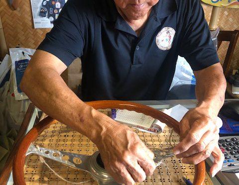 お宝発掘っ! 1958年製ポルシェのステアリング